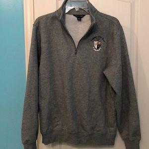 Other - Grey Gamma Phi Beta Quarter Zip Sweatshirt